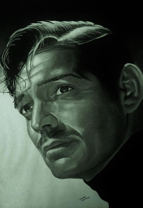 Clark Gable par leandre76